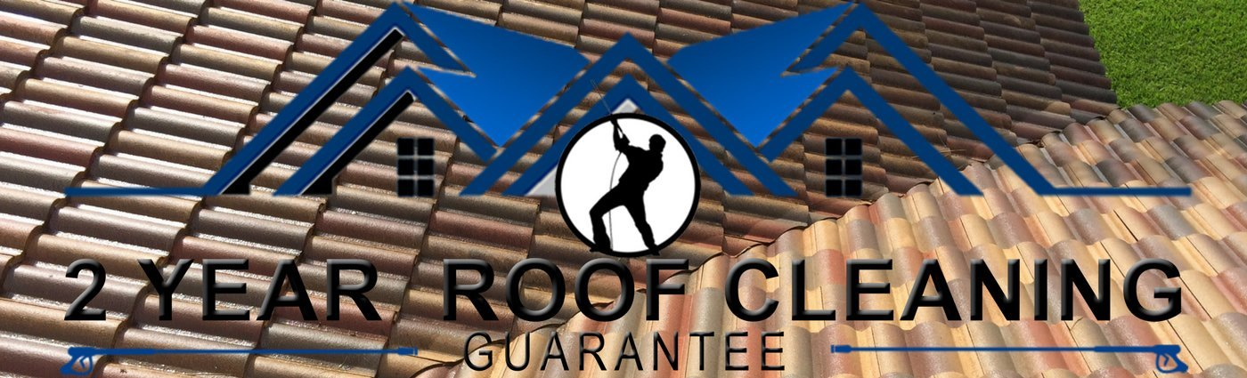 2 year roof cleaning guarantee
